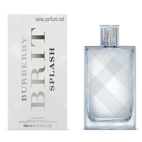 Burberry Brit Splash EDT за мъже - 50ml