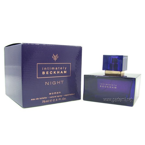 David Beckham Intimately Beckham Night EDT за жени - 50мл