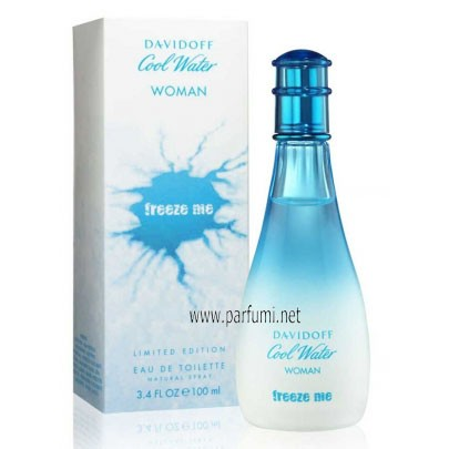 Davidoff Cool Water Freeze Me EDT за жени - 100ml.