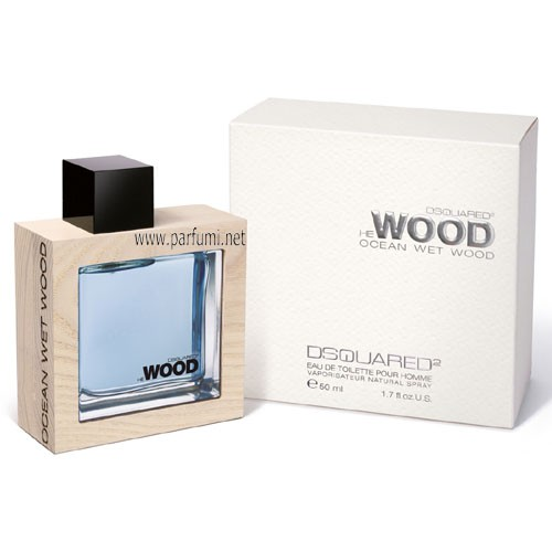DSQUARED² He Wood Ocean Wet EDT за мъже - 100ml.