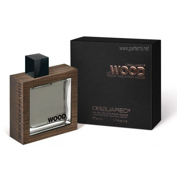 DSQUARED² He Wood Rocky Mountain Wood EDT за мъже - 100ml