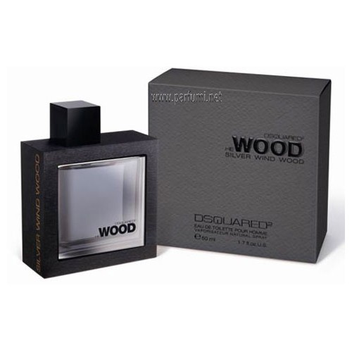 DSQUARED² He Wood Silver Wind Wood EDT за мъже - 100ml