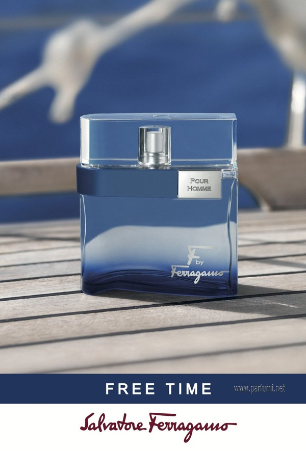 Salvatore Ferragamo F by Free Time EDT за мъже - 30мл