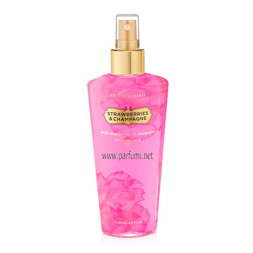Victoria Secret Strawberries&Champagne Спрей  за тяло - 250ml