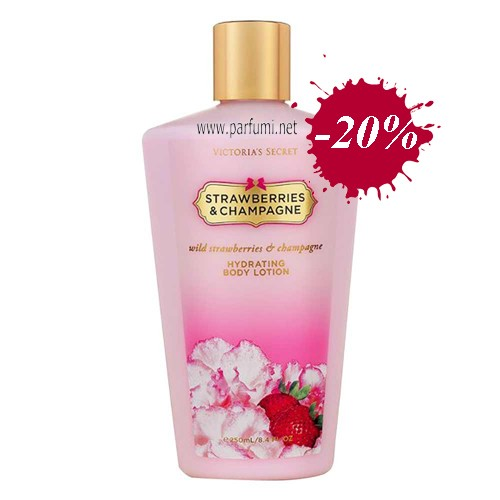 Victoria`Secret Strawberries&Champagne Лосион за тяло - 250ml