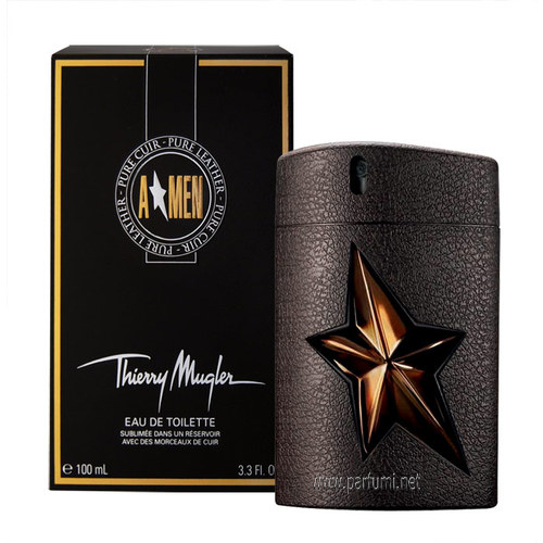 Thierry Mugler A*Men Pure Leather EDT за мъже - 100ml